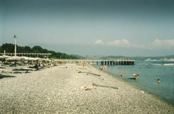Strand in Adler